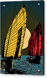 Shanghai Sugar Acrylic Print
