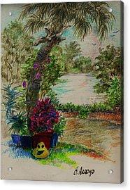 Shannon's  Garden Acrylic Print