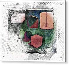 Shapes Acrylic Print by Allen Beilschmidt