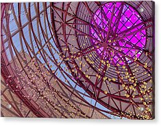 Shapes Within Shapes Within Shapes Acrylic Print