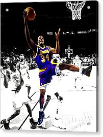 Shaquille O Neal Acrylic Print by Brian Reaves