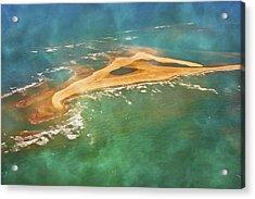 Shark Island Nc Acrylic Print by Betsy Knapp