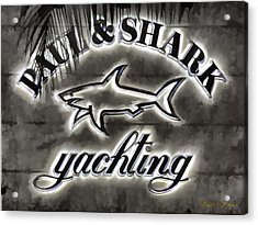 Shark Sign Acrylic Print