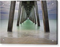 Sharkies Pier Acrylic Print