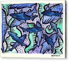 Sharkpac... Acrylic Print
