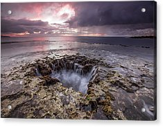 Sharks Mouth Cove Acrylic Print