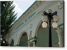Sharon Springs Imperial Bath 2 Acrylic Print by Photographic Arts And Design Studio