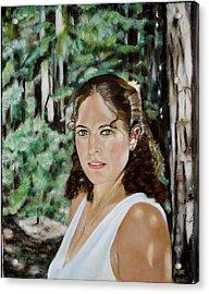Sharon Valterria Acrylic Print