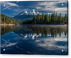 Shasta And Lake Siskiyou Acrylic Print