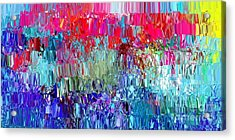 Shattered Acrylic Print by The Art of Alice Terrill