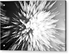 Shattered Acrylic Print by Dazzle Zazz