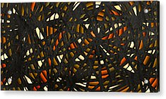 Acrylic Print featuring the digital art Shattered  by Shabnam Nassir