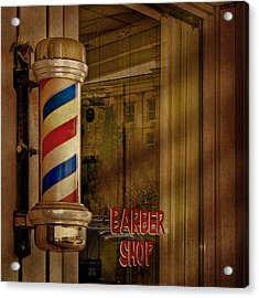 Shave And A Haircut Two Bits  Acrylic Print