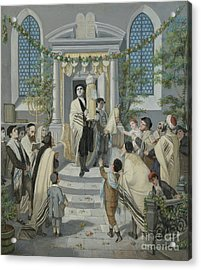 Shavuot - Pentecost Acrylic Print by Celestial Images
