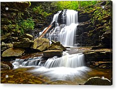 Shawnee Falls Acrylic Print by Frozen in Time Fine Art Photography