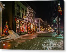 Shaws Sport Shop. Acrylic Print