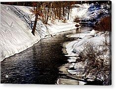 Shawsheen River Acrylic Print by Tricia Marchlik