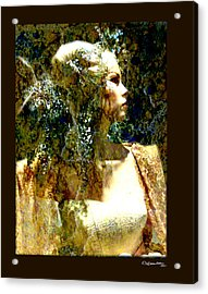 She 2 Acrylic Print by Xoanxo Cespon