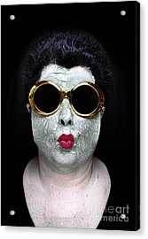 She Couldnt Achieve Her Glam Looks Without A Battery Of Beauty  Acrylic Print by Amy Cicconi