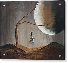 She Feels Memories By Shawna Erback Acrylic Print by Shawna Erback