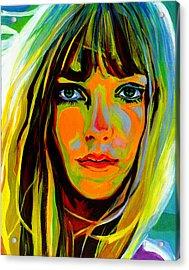 She Is A Rainbow Acrylic Print