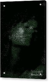 She Is Made Of Stardust Acrylic Print