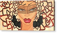 She Knows Acrylic Print