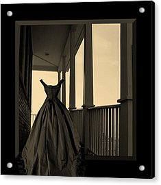 She Walks The Halls Acrylic Print