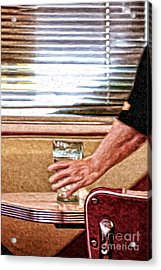 She Works Hard For The Money Acrylic Print by Lois Bryan