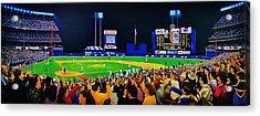 Shea Stadium Classic Acrylic Print by Thomas  Kolendra