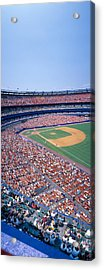 Shea Stadium, Ny Mets V. Sf Giants, New Acrylic Print by Panoramic Images