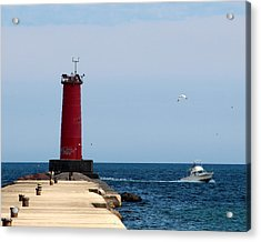 Sheboygan Breakwater Lighthouse Acrylic Print