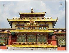 Shechen Monastery In Kathmandu Acrylic Print