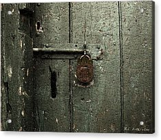 Shed Of Secrets Acrylic Print by RC deWinter