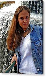 Sheena Trammell Acrylic Print by Joseph C Hinson Photography