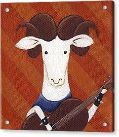 Sheep Guitar Acrylic Print