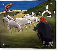 Sheep Herder  Acrylic Print