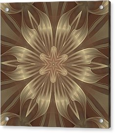 Sheer Linen Acrylic Print