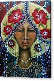 Shekinah Rising  Acrylic Print by Maya Telford