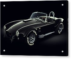 Shelby Cobra 427 - Ghost Acrylic Print by Marc Orphanos