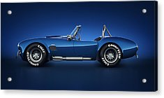 Shelby Cobra 427 - Water Snake Acrylic Print by Marc Orphanos