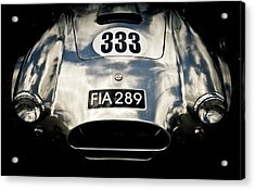 Shelby Cobra Acrylic Print by Phil 'motography' Clark