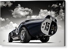 Acrylic Print featuring the digital art Shelby Daytona by Douglas Pittman
