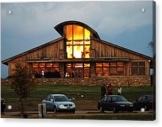 Shelby Farms Visitors Center Acrylic Print