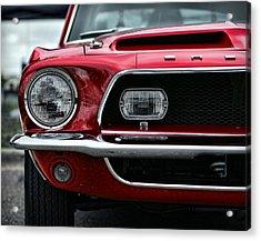 Shelby Mustang Acrylic Print by Gordon Dean II