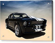 Shelby Super Snake Acrylic Print by Douglas Pittman
