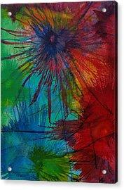 Shelbys  Flowers Acrylic Print