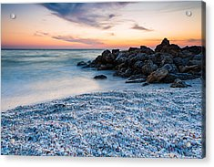 Shell Beach Acrylic Print