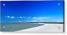 Acrylic Print featuring the photograph Shell Beach by Yew Kwang