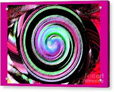 Shell Shocked Frame Acrylic Print by Catherine Lott
